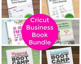 Cricut Home Business Book Bundle - Start & Grow a Business - Pinterest - Instagram - Mockups - Home Parties - Ebook - Craft - Social Media