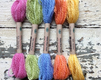 5 Valdani wool thread