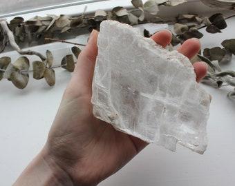 Large Selenite slab - Cleansing plate