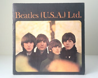 Vintage Beatles Gift, The Beatles 1965 Tour Booklet, Music Gift for Him, Collectible Concert Program, John, Paul, George, Ringo, Fab Four