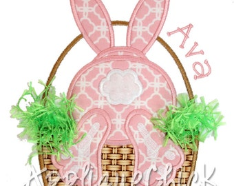 Bunny Tail Applique