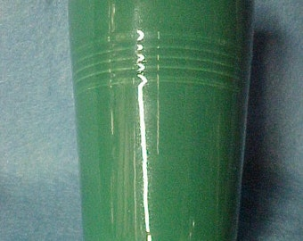 Homer Laughlin Harlequin Tumbler Water Spruce Green