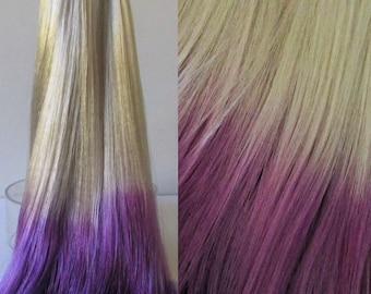 MOONSHINE Ombre Saran Doll Hair for Custom OOAK/Rerooting