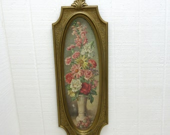 Vintage Dart Industry Wall Plaque Dart Flower Print Wall Hanging C4913