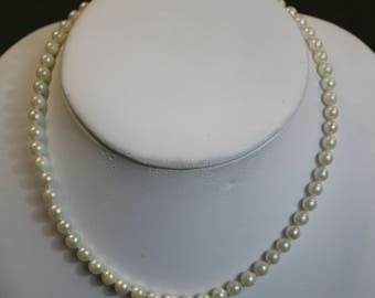 Simple Strand of Pearls