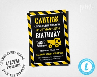 Camping Birthday Invitation Template Camping Invitation Boy