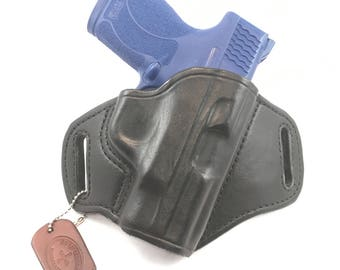 S & W MP Shield .45 - Handcrafted Leather Pistol Holster