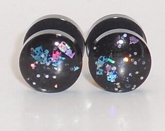 Galaxy Surprise Glitter Fake Plugs