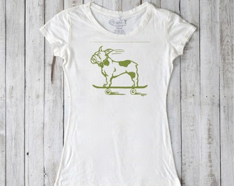 Bulldog Shirt, T shirts for Women, Skateboard T-shirt, Dog Tshirts, French Bulldog Shirt, Bamboo Tee SKATE MORE
