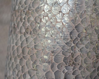 GOLDEN SALMON Print Cork fabric (U.S.A Supplier) - Made in Portugal - Vegan - Sustainable - Leather Alternative - PETA approved