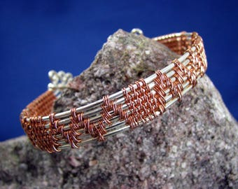 Wire Wrapped Cuff Bracelet