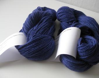 Hand dyed Alpaca Wool