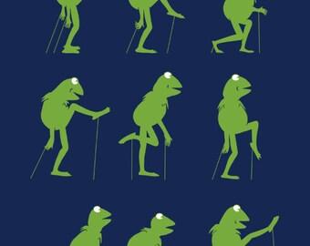 Ministry of Silly Frog Walk Monty Python tshirt