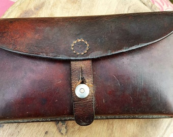Leather ammunition Holder