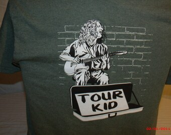 Widespread Panic Shirt.  Michael Houser shirt. tour kid shirt.