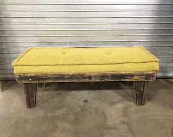 Provence-style Wooden Bench. SOLD! Order yours to your spec!