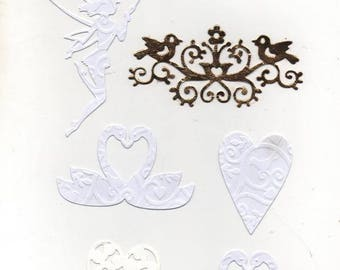 91 - Set of ornaments for your cards or scrapbooking