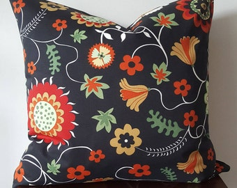 Invisible zipper cushion cover