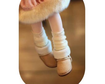 MSD/YOSD Doll Shoes for 1/4 1/6 BJD Doll,Fashion Snow Boots for Dolls,Lovely Puppet Boots Sneakers for Dolls,Footwear for Dolls 5 Colors