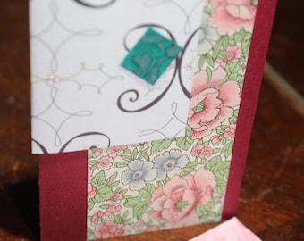 Carte cadeau carte enceinte/embellissement/journalisation