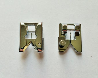 Fringe presser foot for most domestic low shank sewing machines