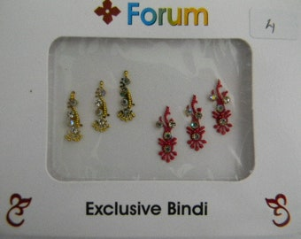 Crystal Diamante Bindi Stick On Bollywood Indian Body Tattoo Art Gem Jewel - Forum #4