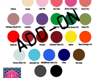 Add-On Paint Color to Wooden Cut Outs