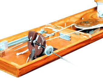 Book Charkha (Traditional) crafted in India.