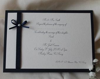 Wedding Invitations 'Simple and Elegant'
