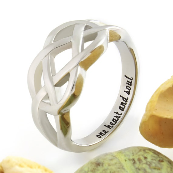 Infinity Ring Promise Ring Infinity Symbol Ring One