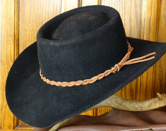 Suede Braided Hat Band