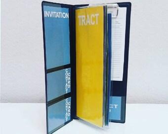 JW MINI Ministry Organizer-JW Tract Holder-jw Meeting Invitation Holder-Field Service-Pioneer gift-Publisher gift-jw-Field Service Organizer