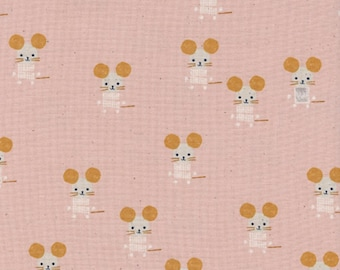 Cotton + Steel - Sunshine Collection - Little Friends in Pink