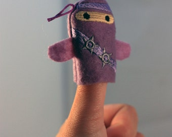 Ninja Thumb War Puppets