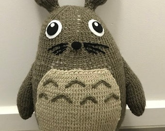 My Neighbour Totoro Knitting Pattern PDF
