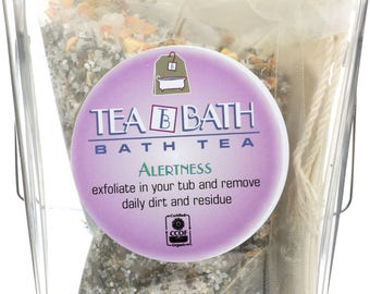 Certified Organic Bath Tea (Alertness)