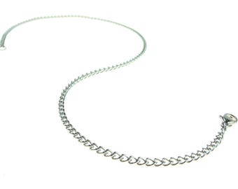 """24"""" Stainless Steel Chain  With Stainless Steel Lobster Claw Clasp"""