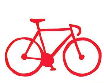 red road bike card