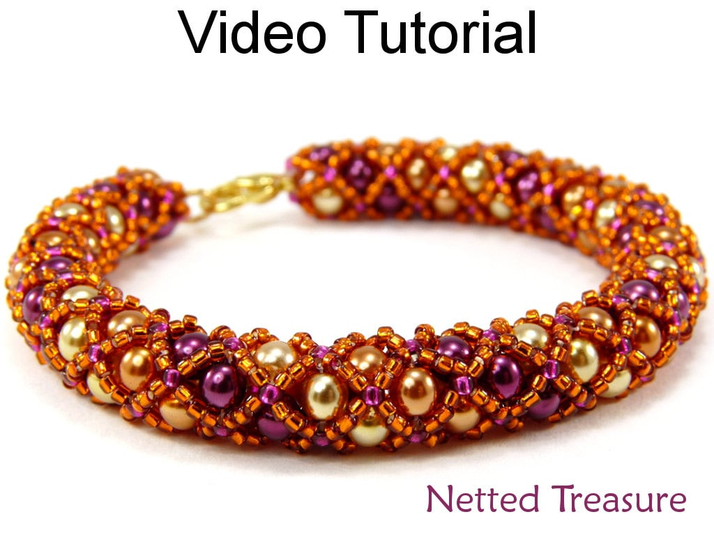 Video Tutorial Necklace Bracelet Beaded Jewelry Making Pattern