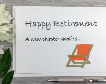 Retirement Card - Happy Retirement - Happy Retirement Card - Retirement - Finished Work Card - Leaving Work Card - No More Work Card