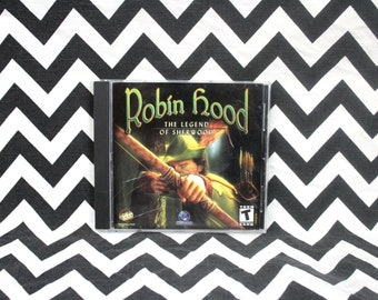 Vintage Robin Hood - The Legend of Sherwood Forest PC Game. CD Rom Computer Video Game. Windows PC Robin Hood Video Game.  Cd Rom Pc Game