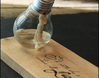 Lampa-DINA _ oil lamp _ Design Oil Lamp _ Bulb Oil Lamp