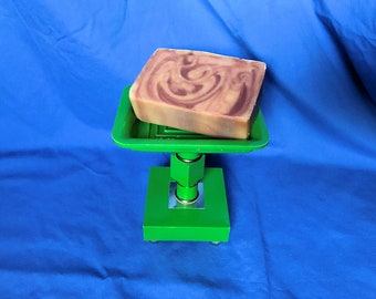 Mod Green Acrylic Pedestal Soap Dish
