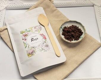 Cleopatra Rose Organic Sugar Scrub 150g Pack