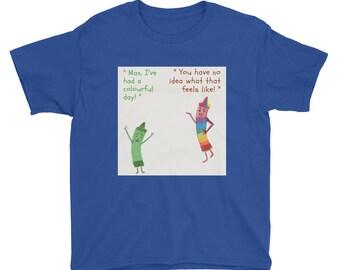 Misunderstood Crayon Youth T-shirt