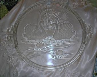 Mikasa Swan Serving Platter