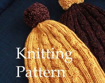 Pretzel Knot - KNITTING PATTERN