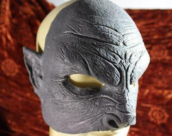 Half orc mask, Orc Half Mask