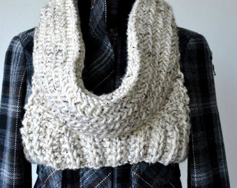PDF Knitting Pattern:Huntress District Armor Cowl- Capitol Hoodie Scarf.