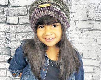 Beyoutiful Slouchy Beanie | Kids Slouch Beanie | Slouchy Hat | Beyoutiful Echo Beanie | Girls Beyoutiful Beanie | Be Your Own Beautiful
